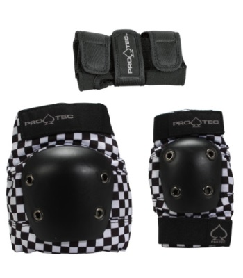 Pro-Tec Street Gear Junior 3-Pack - Checker 兒童護具組