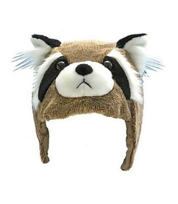 CrazeeHeads Benny the Bandit Raccoon 安全帽套